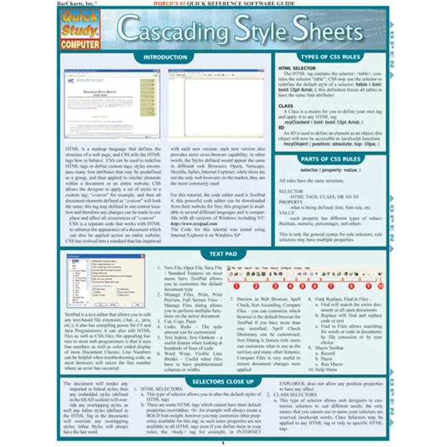 BarCharts- Inc.  9781423201762 Cascading Style Sheets