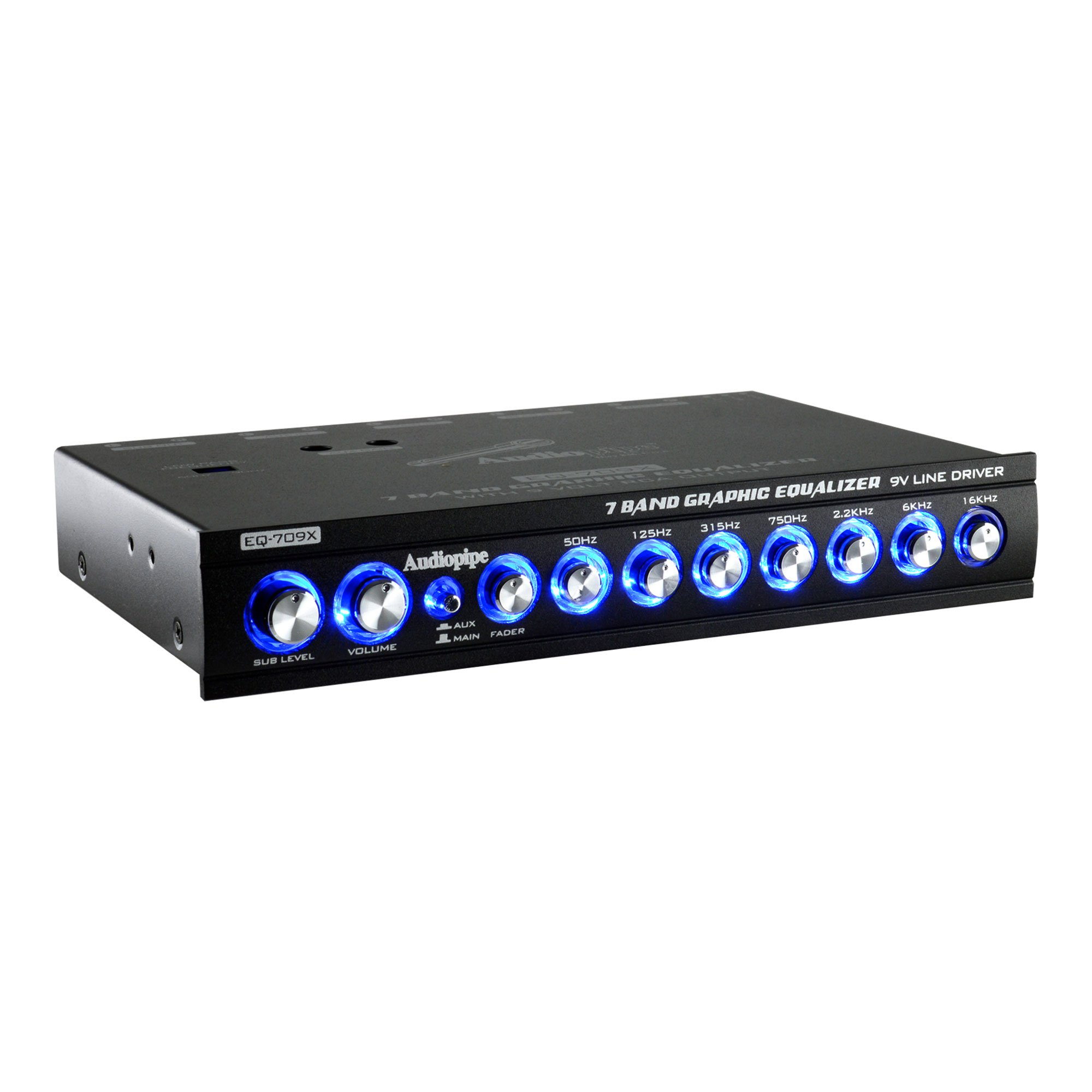Audiopipe EQ-909X 9 Band-9V Line Driver Graphic Equalizer