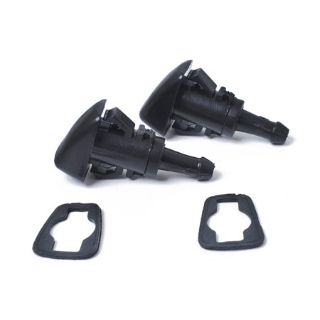 2pcs Windshield Spray Nozzle Washer 5113049AA fit for CHRYSLER JEEP DODGE - Jeep Windshield Gasket