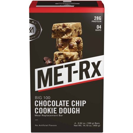 MET-Rx Big 100 Chocolate Chip Cookie Dough Meal Replacement