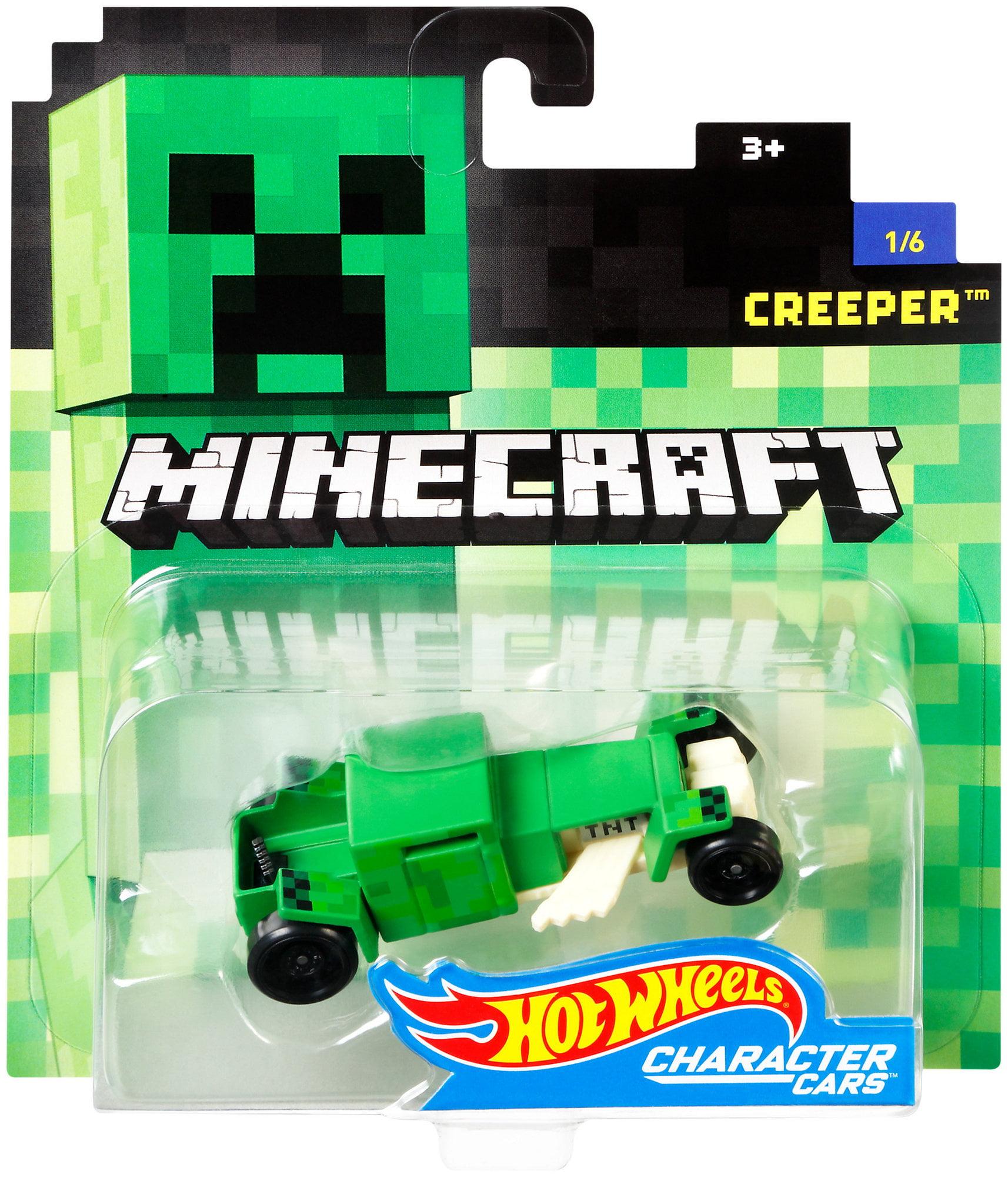 Hot Wheels Minecraft Creeper Vehicle by Mattel