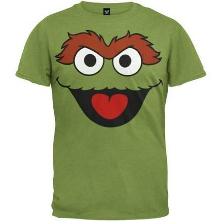 c35157db BioWorld - Sesame Street Oscar the Grouch Men's T-Shirt, Small - Walmart.com