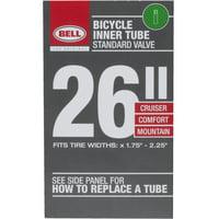"Bell Sports Standard Bicycle Inner Tube, 35mm Schrader Valve, 26"" x 1.75-2.25"""
