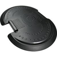 Floortex AFS-TEX System 5000 Anti-fatigue Mat, Midnight Black