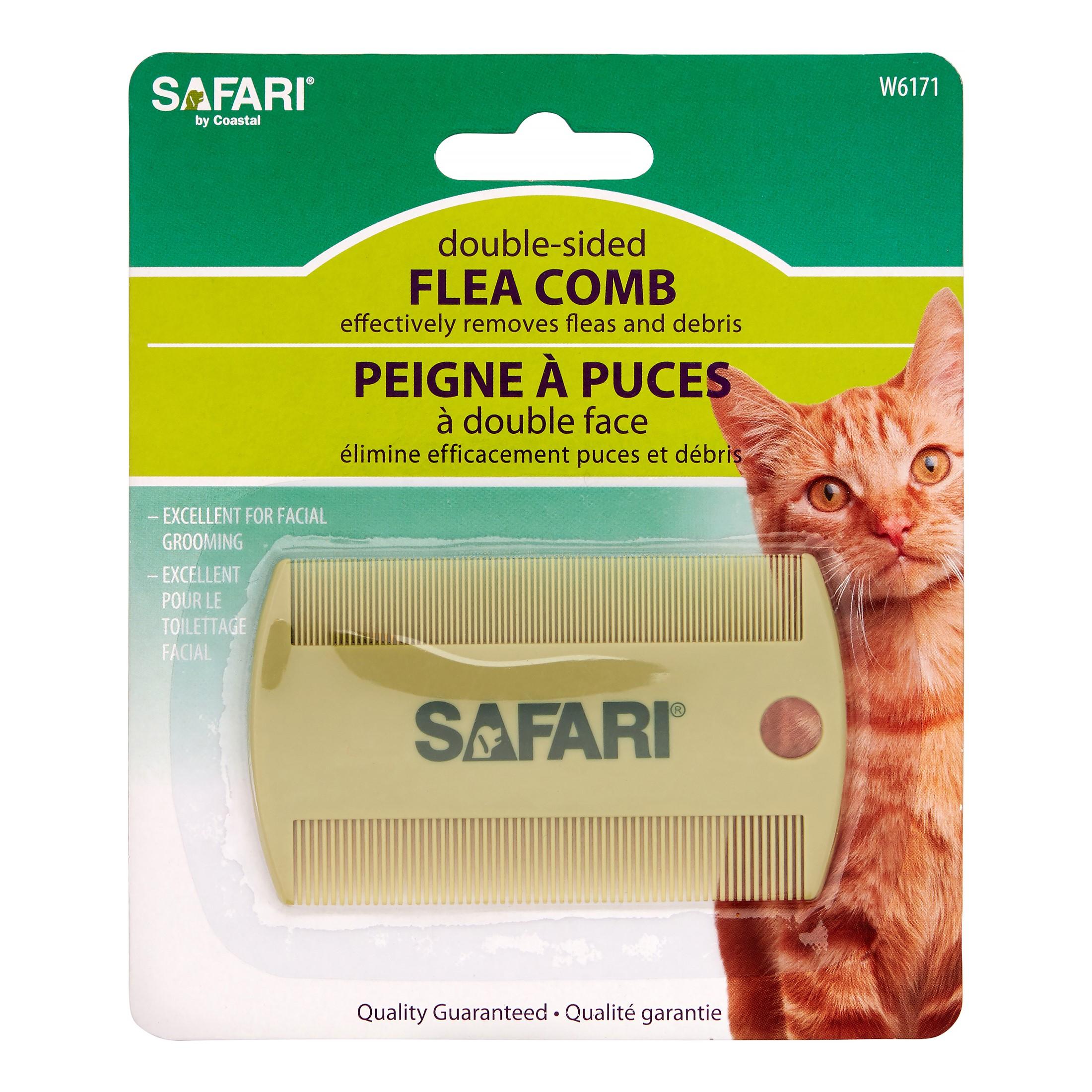 Safari Cat Flea Comb, Double-Sided