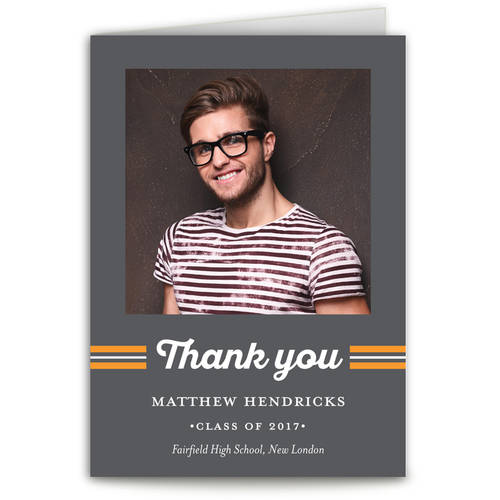 Spirited Grad Graduation Thank You Card
