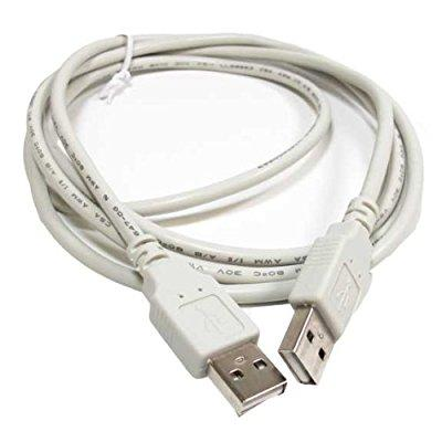 sf cable, 6ft usb 2.0 a male to a male cable