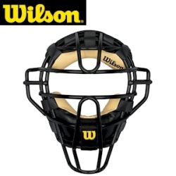 Wilson Dyna-Lite Umpire Face Mask Synthetic Liner Adult by Wilson