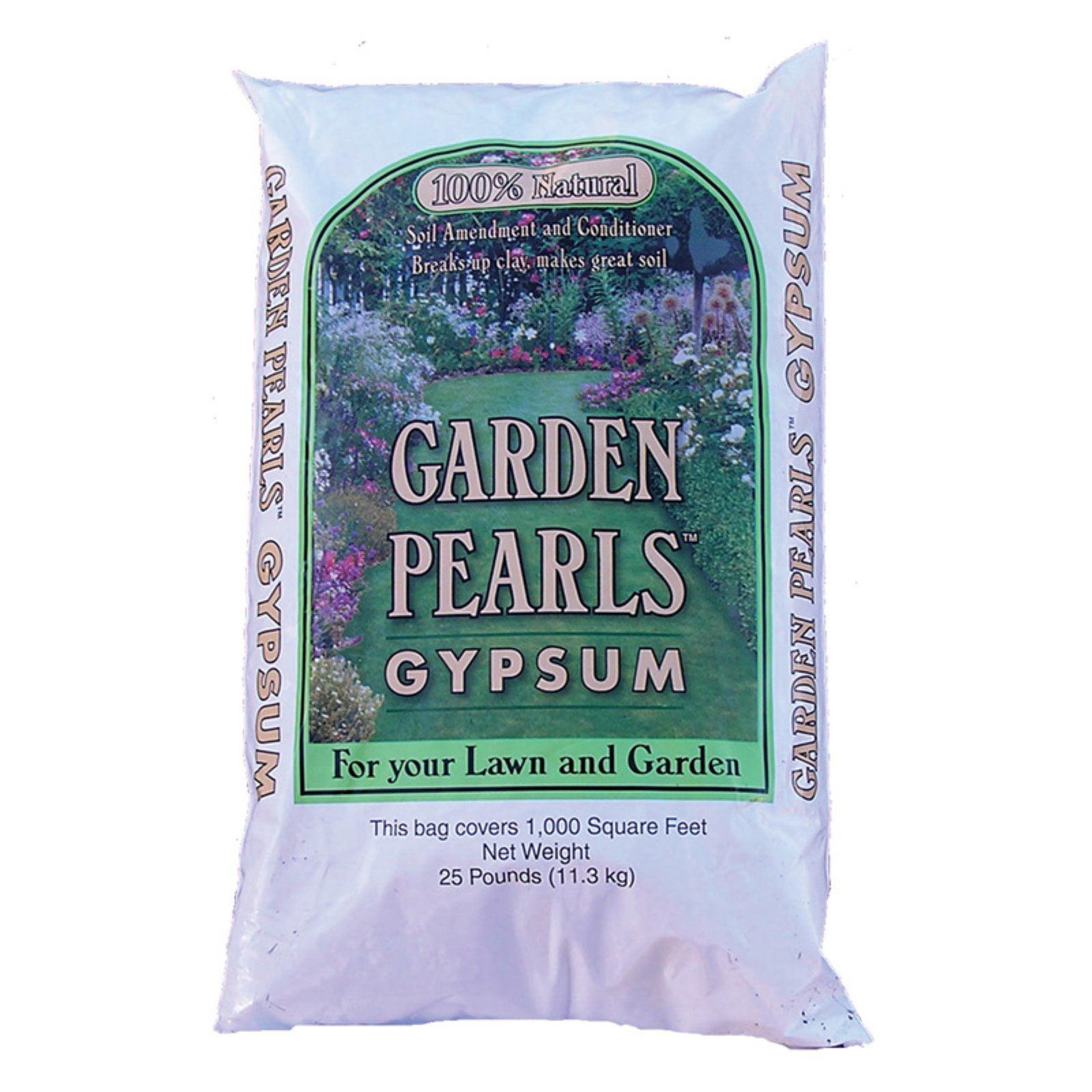 Garden Pearls 10799 25 Lbs Garden Pearls Gypsum