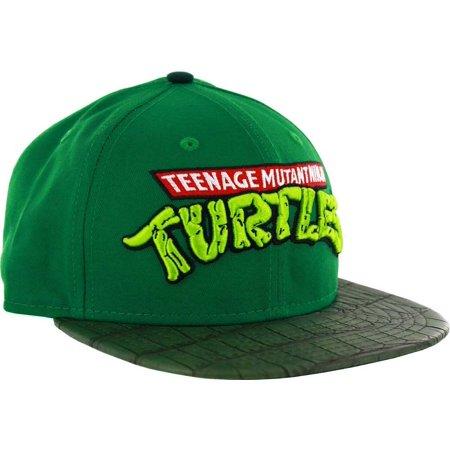 Teenage Mutant Ninja Turtles Shell Visor Strapback Adjustable Hat