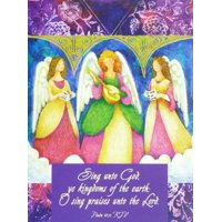 Trimmerry Sing Unto God Christian Christmas Cards Angels Singing
