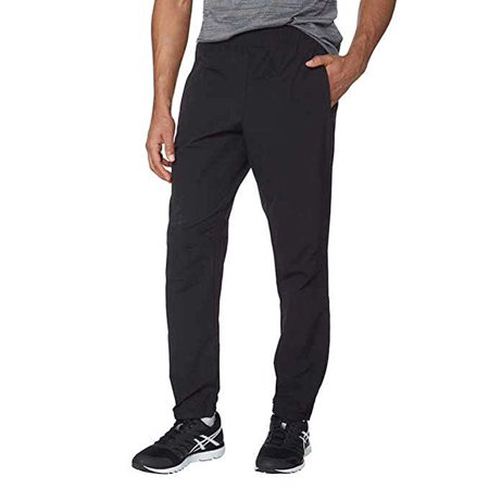 Kirkland Signature Men's Active Woven Pant, Black Large - NEW