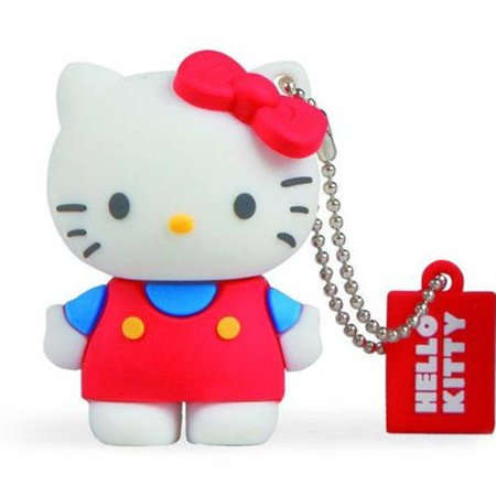 Tribe Classic Hello Kitty 8GB USB Flash Drive 2.1 Gb Disk Drive