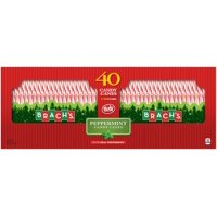 Brach's Bobs Red and White Peppermint Candy Canes, 40 Count Box