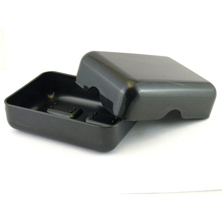 Brown Dish - Plastic Travel Soap Dish (Black), Two Piece Design, Made Of Sturdy Plastic By Goody Ship from US