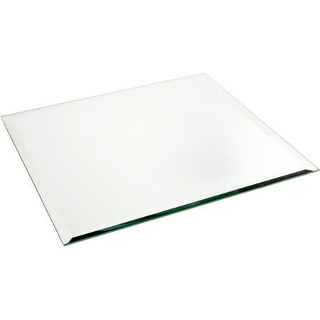 Plymor Square 5mm Beveled Glass Mirror, 12 inch x 12 inch ()