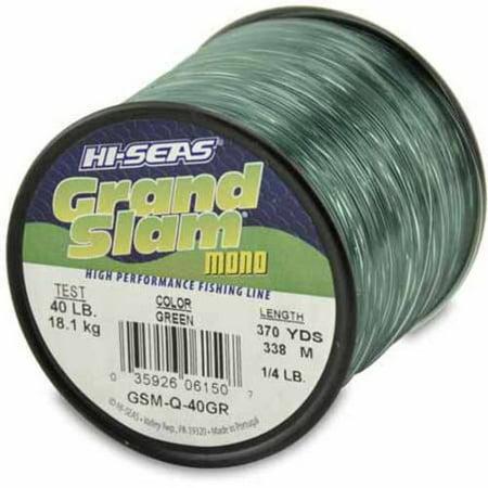 American Fishing Wire Grand Slam Mono  40 Pound Spool  Green