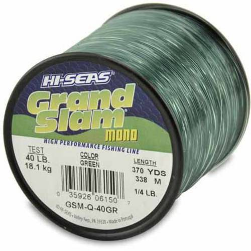 American Fishing Wire Grand Slam Mono, 40-Pound Spool, Green