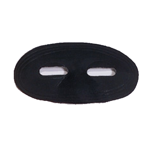 Black Eye Mask Satin Domino Superhero Ninja Super Hero Costume Accessory