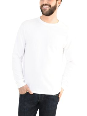 930010d0b Free shipping on orders over $35. Best Seller. Product Image Fruit of the  Loom Men's Platinum EverSoft Long Sleeve T-Shirt, Available up to