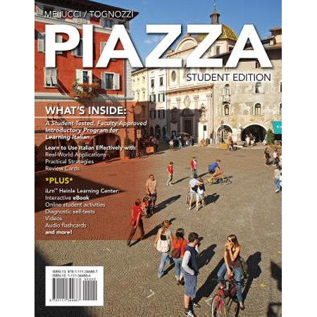 Piazza (with Ilrn(tm) Heinle Learning Center, 4 Terms (24 Months) Printed Access Card)