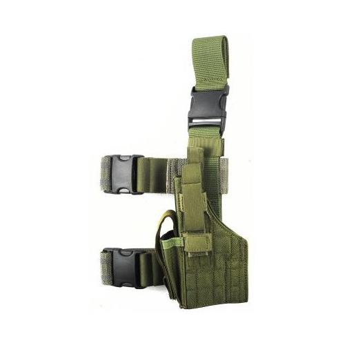 Specter Gear Tactical Thigh Holster, Sig P226 / P220, 4.4 bbl, Right Hand - OD G