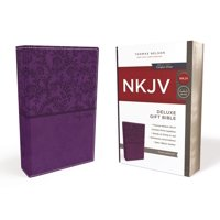 NKJV, Deluxe Gift Bible, Imitation Leather, Purple, Red Letter Edition (Hardcover)