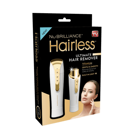 Hairless By NuBrilliance - The Ultimate Hair Remover – As Seen on TV! (As Seen On Tv Facial Hair Remover)