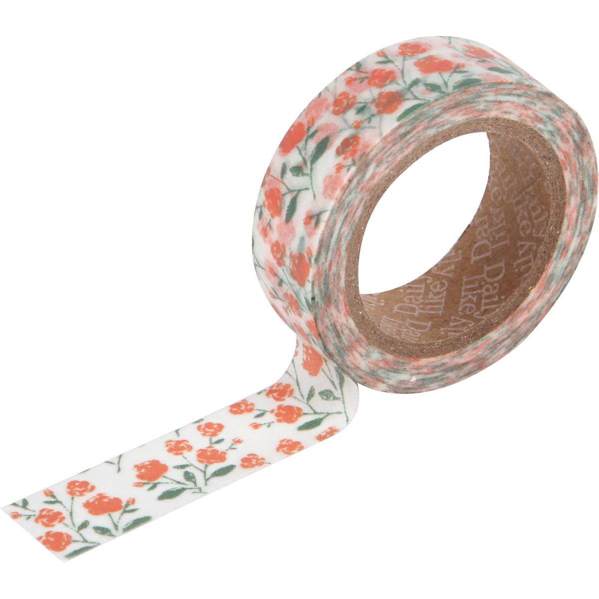 Love My Tapes Washi Tape 15mmx10m-Rose Garden