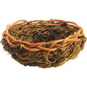 A Cage HB46519 Natural Open Finch Nest - Small