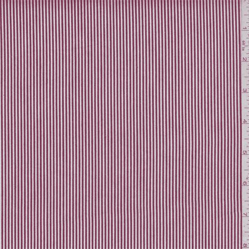 Red Stripe Cotton Ticking Fabric By The Yard Walmartcom