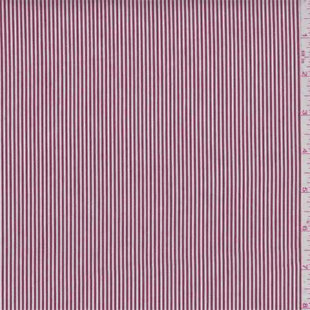 Red Stripe Cotton Ticking Fabric By The Yard Walmartcom