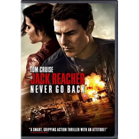 Jack Reacher: Never Go Back (DVD) (Jack Reacher Never Go Back Leather Jacket)