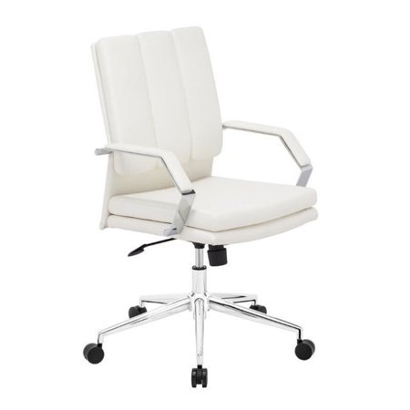 Zuo Director Pro Faux Leather Office Chair In Black