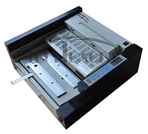 Techtongda A3 Book Binding Machine Glue Binder Automatic 110V Liquid Crystal Display #120386 by
