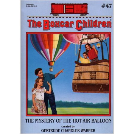 The Mystery of The Hot Air Balloon Boxcar Children #47 Paperback Book