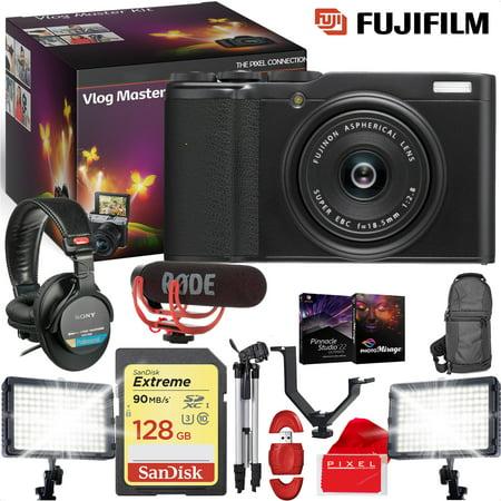 FUJIFILM XF 10 Digital Camera (Black) - VLOG MASTER KIT](Halloween Day Vlog)