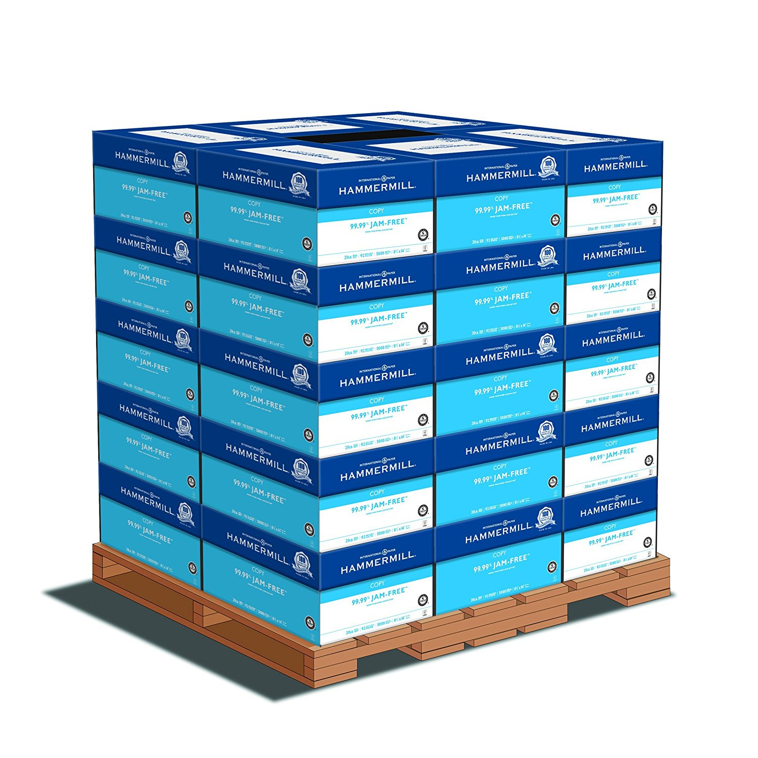Hammermill Tidal MP 20lb 8.5x14 92 Bright (162016PLT) 150,000 Sheets, 30 Cases, 5000 Sheets/Case - Pallet Pricing
