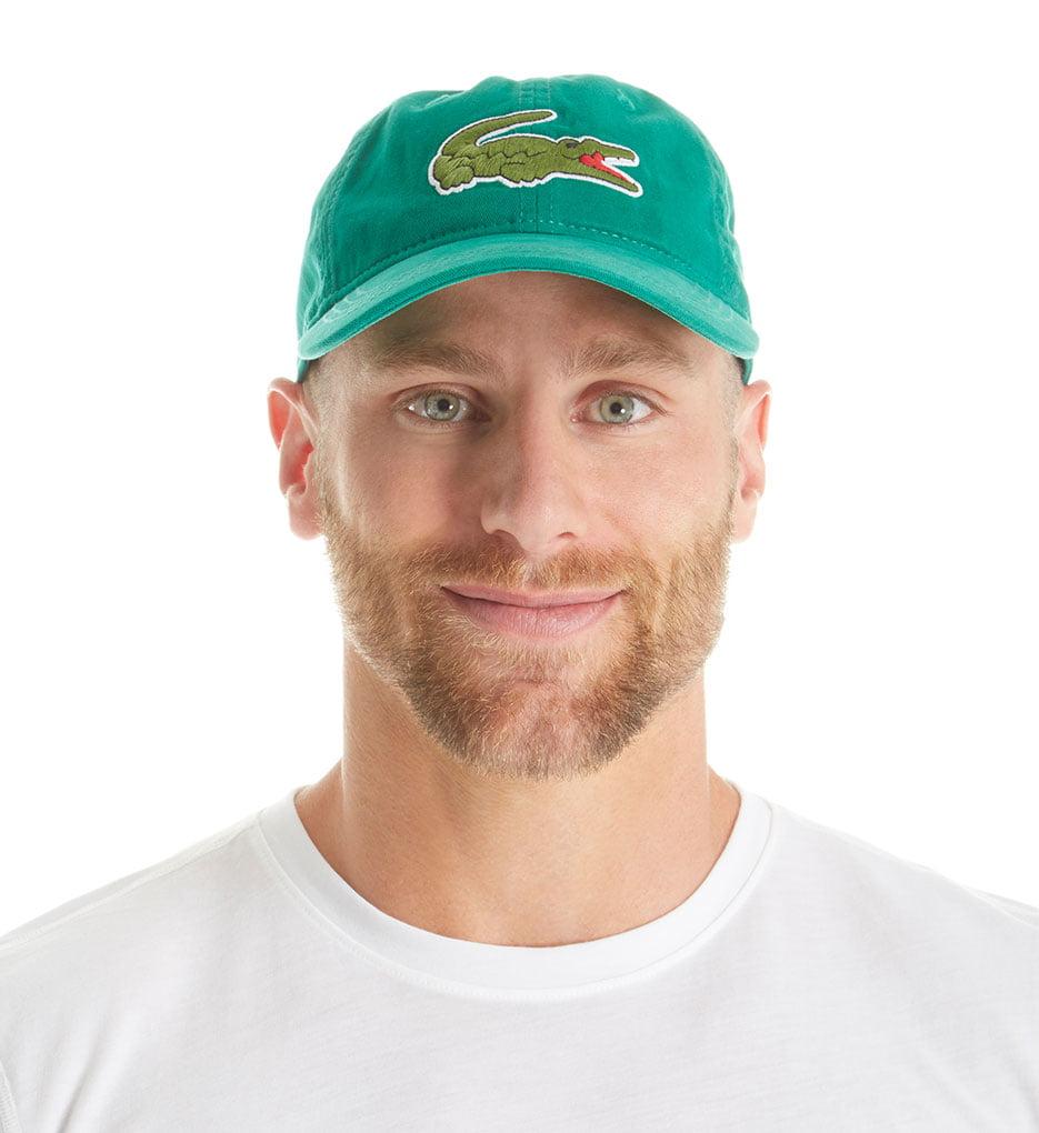 54659731 Lacoste - Lacoste RK8217 Men's Big Croc Gabardine Hat - Walmart.com