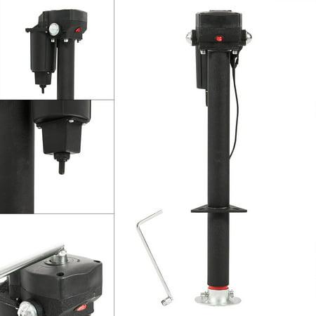 Arksen 12-Volt, Electric Power Tongue, A-Frame RV Trailer Jack ...