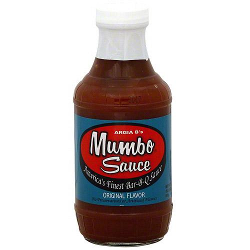 Argia B's Mumbo Sauce Original Sauce, 18 oz (Pack of 6)