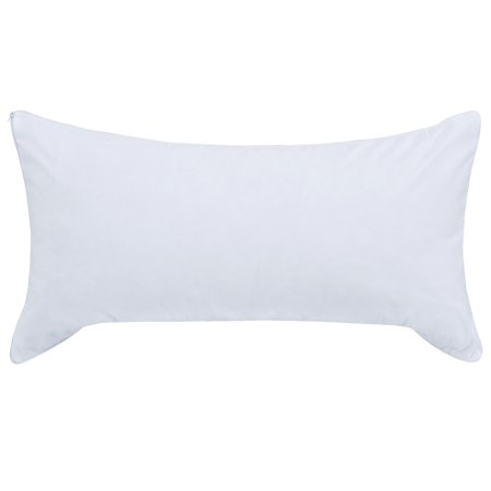 Mainstays Memory Foam Cluster Pillow with Cover.