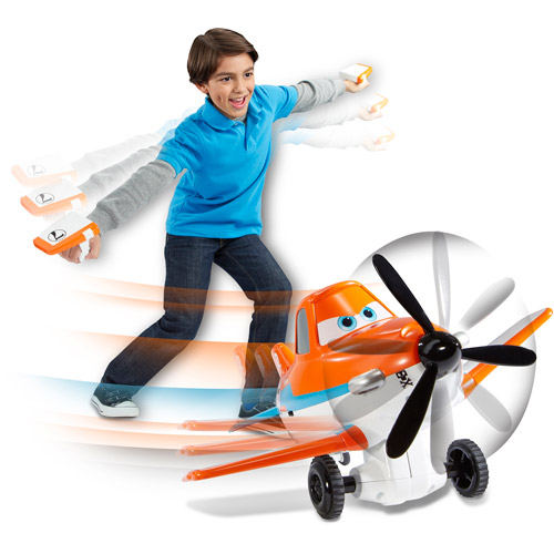 Disney Planes Dusty Crophopper Wing Control Remote-Controlled Plane