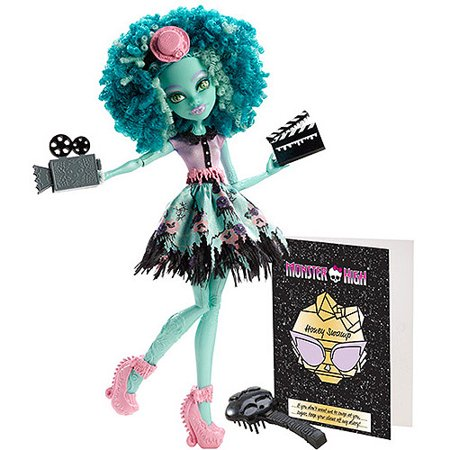 Monster High Frights Camera Action Hauntlywood Honey Swamp Doll - Monster High Honey Swamp