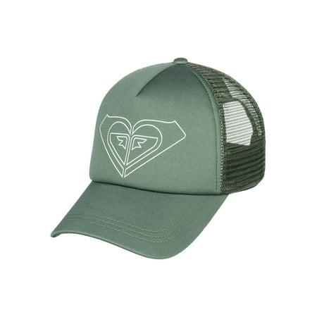 Roxy Womens Truckin Color Snapback Trucker Hat - Duck Green/White](Daisy Duck Hat)