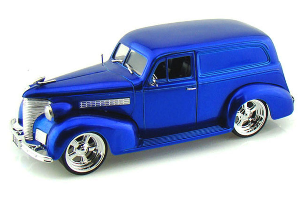 1939 Chevy Sedan Delivery, Blue Jada Toys Bigtime Kustoms 96366 1 24 scale Diecast Model... by Jada