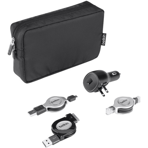 Belkin B2B042-BLK Travel Charge and Connect Kit