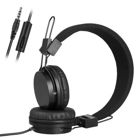 0a4c61cdfa0 Kids Over Wired Ear Headphones Headband Kids Girl Earphones for iPad/Tablet  iPhone Samsung and other Devices - Walmart.com