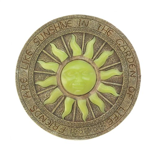 Zingz & Thingz Bursting Sun Glowing Stepping Stone