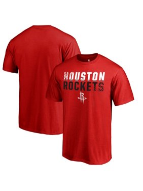 Houston Rockets Fanatics Branded Fade Out T-Shirt - Red